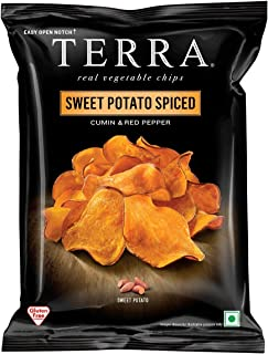 Hain Celestial Terra Sweet Potato Spiced, Cumin & Red Pepper, 30 gm (Pack of 1)