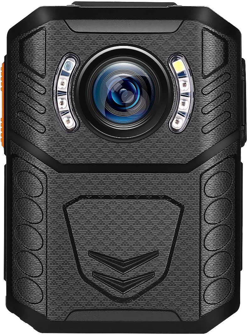 BOBLOV X3A 128GB Body Camera New Study Appearance Mould Police Body Camera Removable SD Card 9Hours Recording Wearable Body Mounted Camera, Auto Night Vision Cameras(Including 128GB Card)