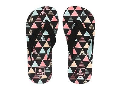 Reef Kids Ahi (Little Kid/Big Kid) (Surf Flag) Girls Shoes