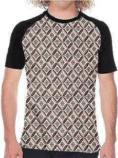 Vintage,Mens Shorts Tees Memphis Style Funny 80s TV,Custom T-Shirt Fashion Style