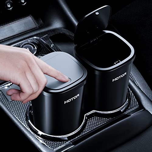 new arrival HOTOR 2 Packs Car Trash Can, Car Trash Cup with 30 Additional Car Trash Bags for Exclusive Using, Multipurpose Trash discount Can for Car, Office & Home to new arrival Meet Various Needs online