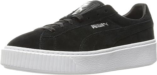 PUMA Women's Suede Platform Core Fashion Sneaker