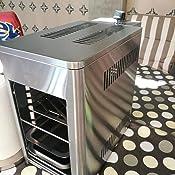 Barbec-U Barbacoa de Mesa de Gas de Acero Inoxidable de Alta ...
