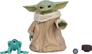 Star Wars The Black Series The Child (Baby Yoda) The Mandalorian Figura de 3,04 cm da série The Mandalorian - F1203 - Hasbro