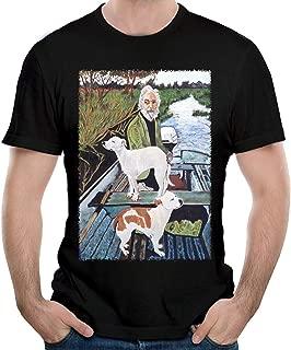 DebbieRGoldberg Men's Goodfellas Painting T-Shirts Cotton Shirt Tops