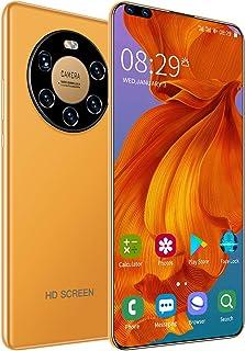 4G Smartphone Mate 40 Pro Android 10.0, Dual SIM Phones Unlocked, 7.3 inch Full Screen, 4GB+64GB,24MP+50MP Camera,5800mAh ...