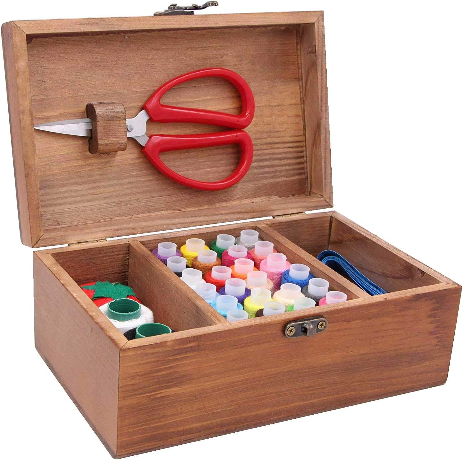 Sales for sale LeBeila Professional Sewing Kit with Directly managed store Box Premium Wooden
