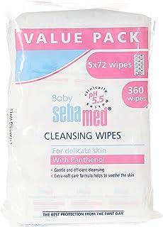 Sebamed Baby Wet Wipes 72's, Pack of 5 ( Value Pack )