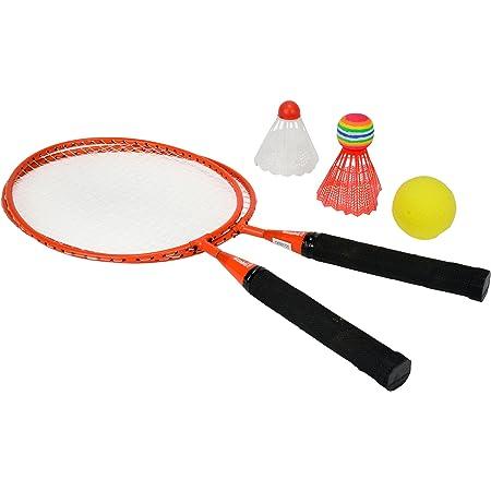 Simba- Racchette Badminton, Multicolore, 4006592761691