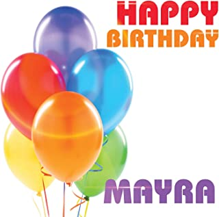 Best happy birthday mayra Reviews