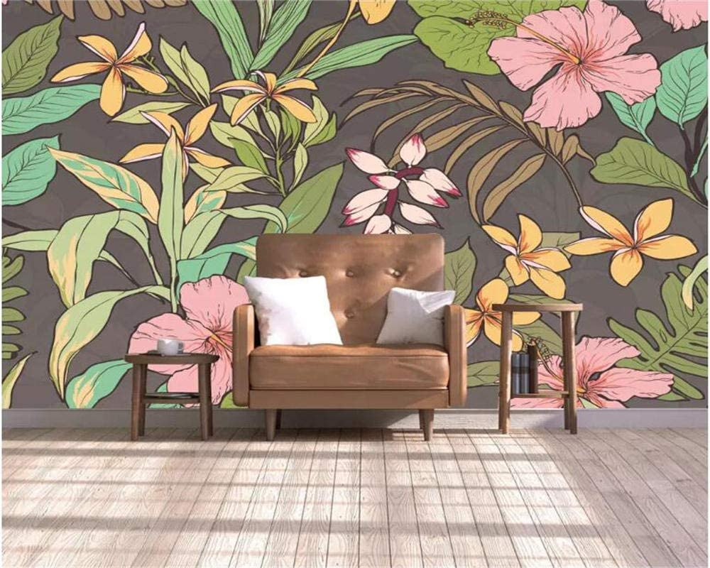 ZCLCHQ Photo Wallpaper Color Leaves Wall Living Painting Free Max 45% OFF shipping Room