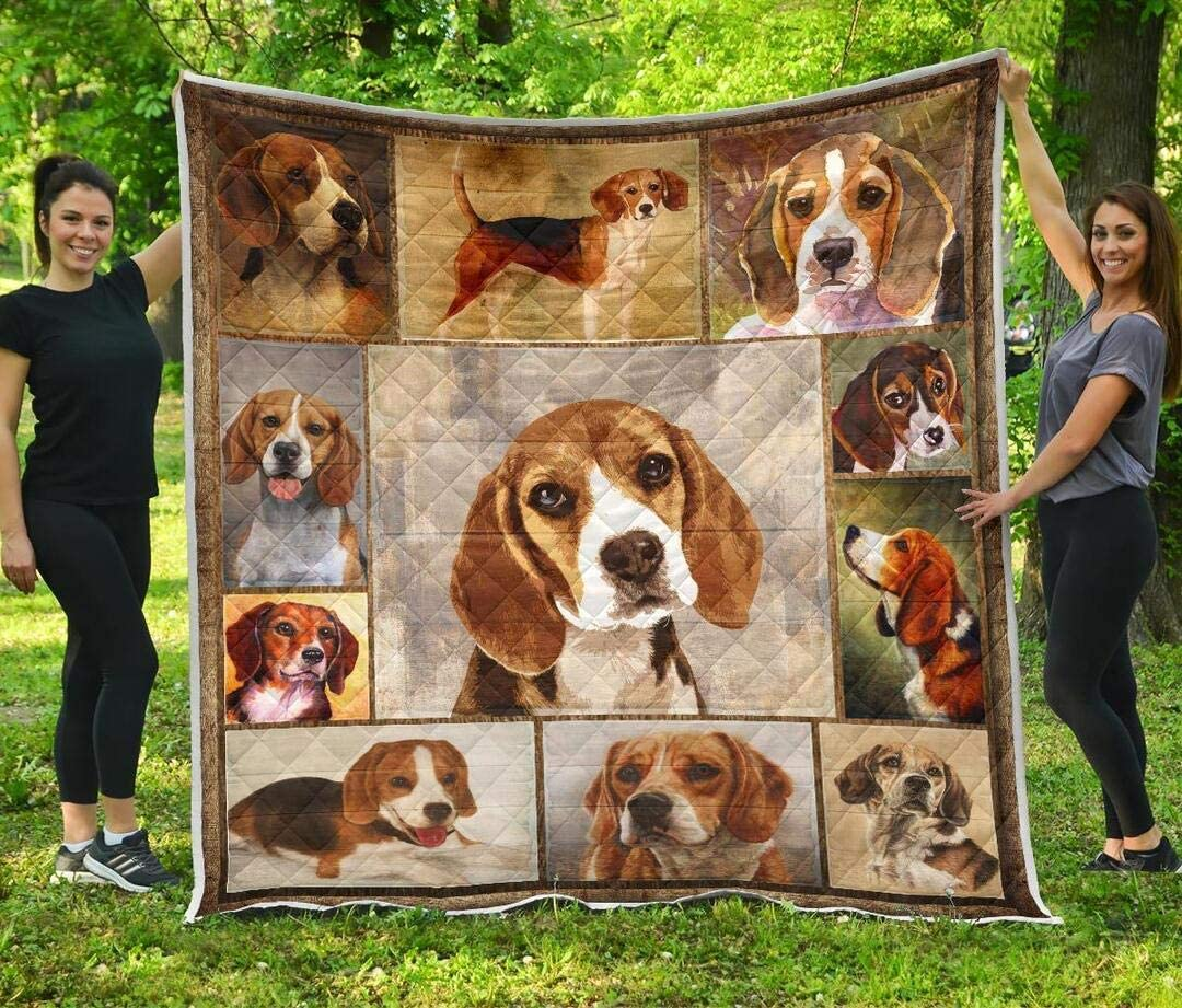 Personalized Beagle Quilt Tampa Mall Halloween Light Seattle Mall - Decorative Bedspread