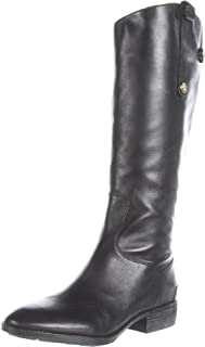 black equestrian riding boots