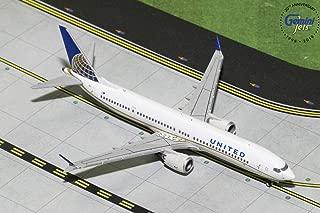 GeminiJets GJUAL1784 United Airlines B737 Max 9 N67051 1: 400 Scale Diecast Model Airplane, White
