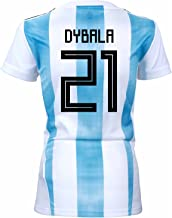 adidas Dybala #21 Argentina Home Women's Soccer Jersey World Cup Russia 2018