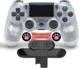$68 » FJP Set of 3 Pcs - Wireless Controller for Playstation 4 + Strike Pack for PS4 Controller + 2 Joystick Caps, Game Console ...