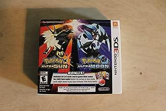 Pokemon Ultra Sun & Pokemon Ultra Moon Veteran Trainer's Dual Pack - Nintendo 3DS