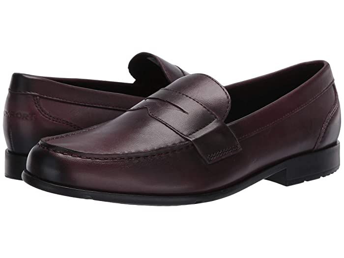 Rockport  Classic Loafer Lite Penny (Andorra Glass) Mens Slip-on Dress Shoes