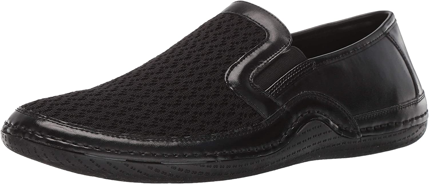 STACY ADAMS Men's Orleans Slip-on Casual Loafer Driving Style