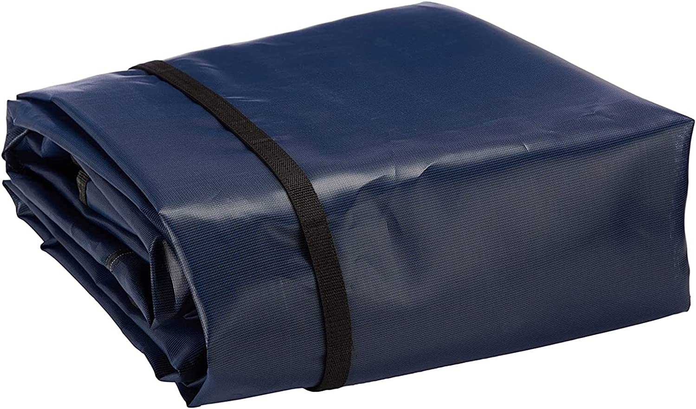 Cobertor Cubierta Fundas para Piscinas, Rectangular Cubiertas de seguridad para piscinas, Invierno Grande Cubierta de seguridad para piscina enterrada, 1m/2m/3m/4m/5m/6m/7m/8m/10m de largo, Incluyendo