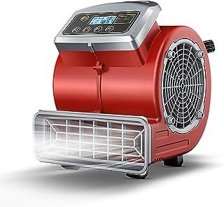 LVYUAN 送風機 ファン送風機 電動 換気扇 排気 業務用・家庭用両用 小型 強力 エアムーバー 工場扇 工業 扇風機 床置型 フロア扇 空気循環 乾燥 3段階風量 300W 大风力 換気・送風・排気 本体重量5KG