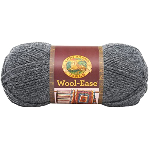 40f98bf67d3 Lion Brand Wool-Ease Yarn (152) Oxford Grey
