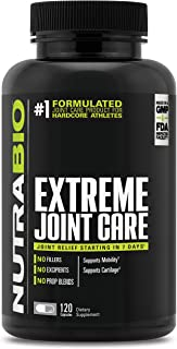 NutraBio Extreme Joint Care - 120 Capsules