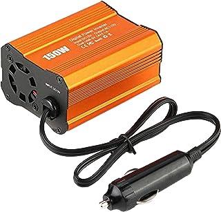 Homyl 150W de Potência Do Inversor DC 12V a AC Car Inverter com 2.0A Dual USB Adaptador para Carro