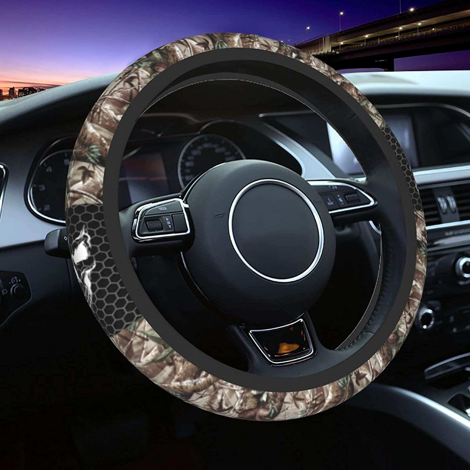 Camo Steering Product Wheel Cover New arrival Universal Inch 15 Acc