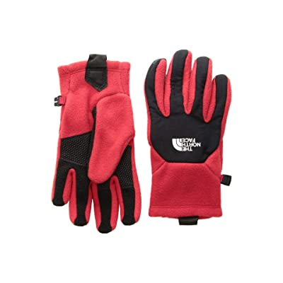 The North Face Kids Denali Etiptm Gloves (Big Kids) (TNF Red/TNF Black) Extreme Cold Weather Gloves