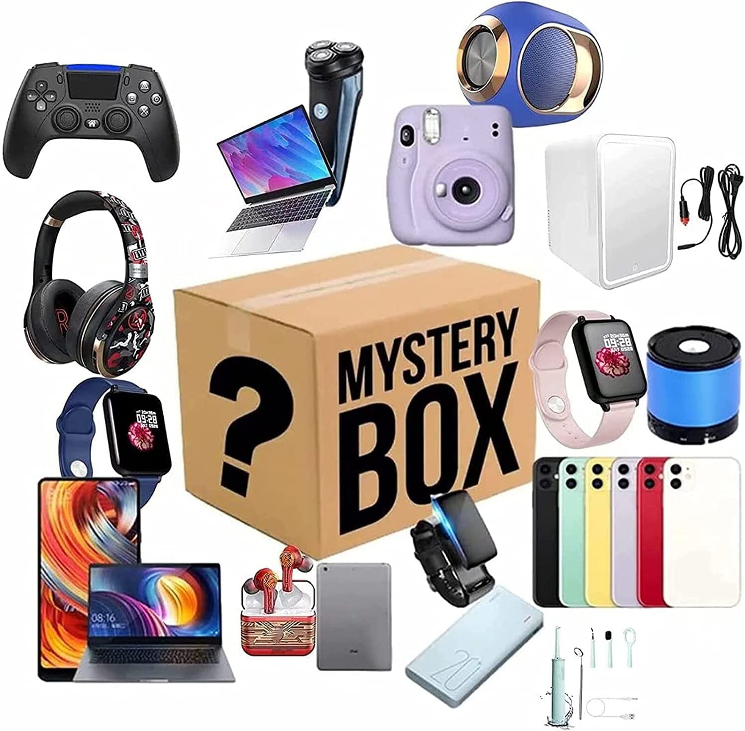 Lucky Boxes favorite MysteryBlind Box Blind Max 66% OFF Equipped with El Various