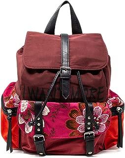 Luxury Fashion   Desigual Womens 19WAKA11BURGUNDY Burgundy Backpack   Fall Winter 19