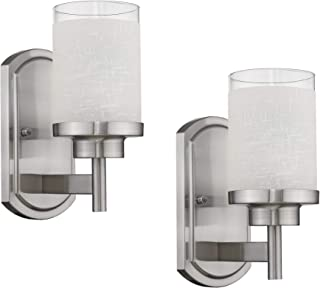 Best bathroom wall sconce with shade Reviews