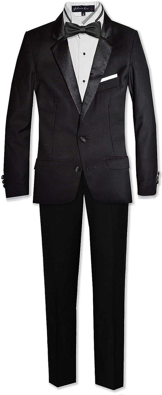Johnnie Lene Formal Limited price Boys Slim Skinny Dresswear Suit Piece 6 Ranking TOP15 Fit