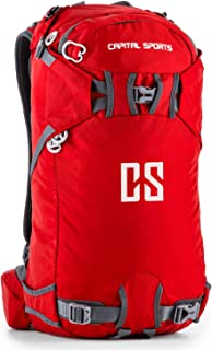 Capital Sports CS 30 – Mochila deportiva de ocio (senderismo, caminar, camping, etc.) de nailon impermeable con un volumen de 30 l, espalda reforzada (bolsillos de acceso rápido, correas ajustables)