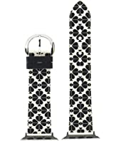 Kate Spade New York - 38/40 mm Spade Flower Silicone Apple Watch® Band - KSS0047