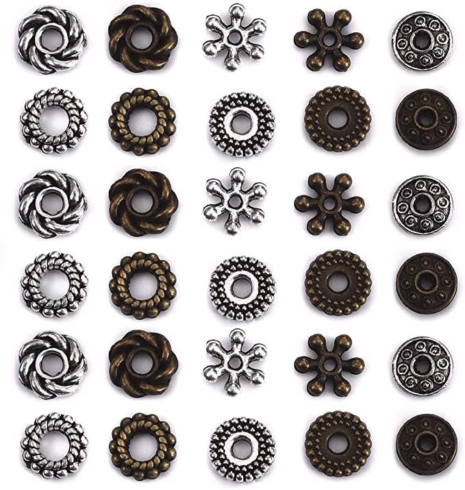 Alloy Cross Spacer Beads European Beads for Religious Bracelet Jewelry Making