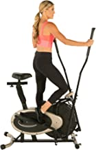 elliptical exercise bike combo