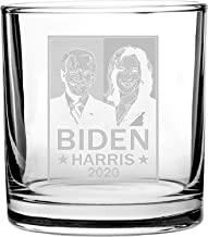 United States USA President Presidential Election Voting 2020 Party White House Candidates - 3D Laser Engraved Scotch Whis...