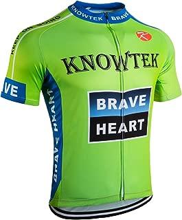 Cycling Jersey Men Bicycle Shirts Bike Clothing Biking Cycle Short Sleeve Blue