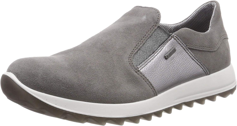 Legero Women Flat Slipper Amato Grey, (Piombo (Grey)) 40052426