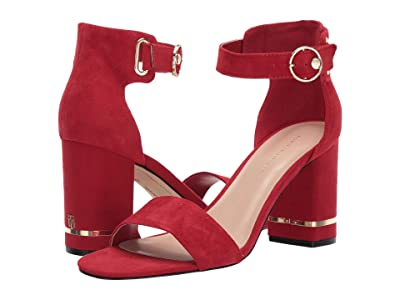 Tommy Hilfiger Satine (Medium Red Suede) Women
