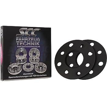 Spurverbreiterung System 2 20mm pro Achse SCC Distanzscheibe ALU 10mm f/ür Seat Exeo incl ST 3R Lk 112//5+100//5 NLB 57,1