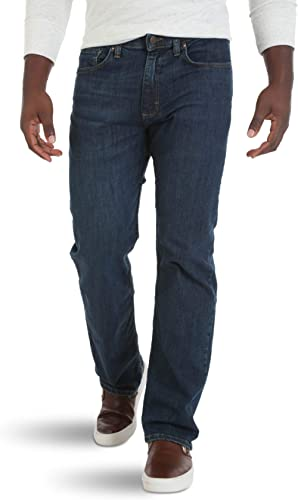 Wrangler Authentics Men's Relaxed Fit Comfort Flex Jean