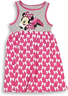 Minnie Mouse Dress Bows All Over Outfit Toddler Girls