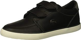 Lacoste Men's Bayliss Sneaker, Black/Dark Grey, 10 Medium US