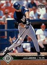 1997 Upper Deck #100 John Jaha MLB Baseball Trading Card