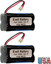 (2-Pack) Emergency/Exit Lighting Battery Fits & Replaces Interstate ANIC1117 Unitech Systems D-AA500 Emergi-lite BL93NC487 Emerlight BL93NC487 Emerlight Exit Light Co. EBE-145-10 Inc. BAA-48R