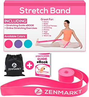 Stretch Bands for Dancers and Gymnasts - Exercise Bands for Dance, Ballet, Gymnastics, Cheerleading, Pilates Training Stretching Band Dance Stretch Bands for Flexibility Ballet Barre E-Book