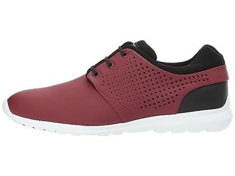 Z Zegna Stefano Sneaker Dark Red/Black Fashion Style IlPno